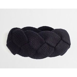 J.Crew Wool Blend Braided Headband
